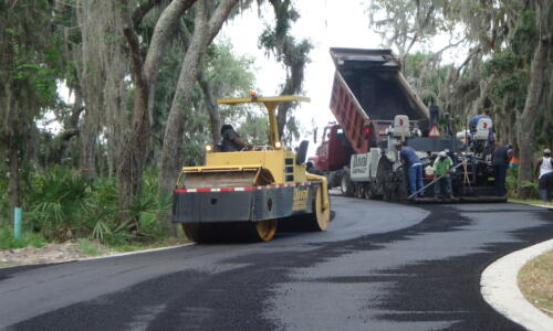 Oyster Bay Harbours is paving the road to the Yachtclub