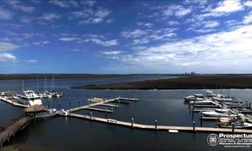 Oyster Bay Harbours drone aerial