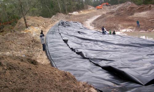 Building Stormwater Ponds with a Liner